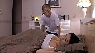 Miki Sato and young boy s. of