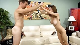 Dillion Carter Dad Wrestles And Fucks His Stepdaughter
