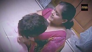 Chubby Indian Desi Lady with y. man