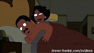 Cleveland Show hentai Night of fun Donna