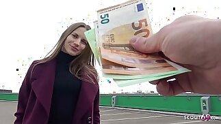 GERMAN SCOUT SLIM TOURIST GIRL STELLA GET FUCK FOR CASH AT STREET PICK UP MODEL JOB