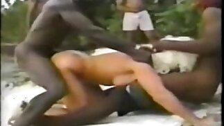 Jamaica Beach - Turista bionda avere una bella scopata parte 2