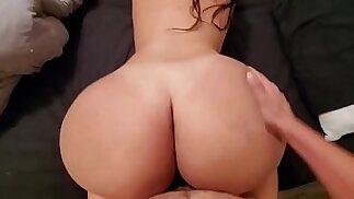 Big Ass Stepdaughter Fucks Her Dad Good