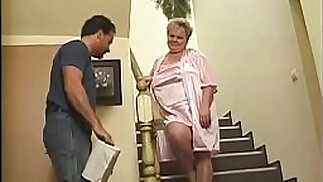 granny fucked as a punishment