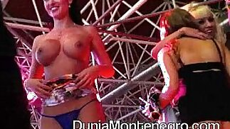 Live sex show Nacho Vidal with girls