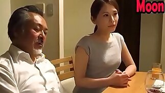 Japanese wife like cheating her husband friend