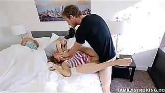 Stepdad Wakes Up Teen Daughters
