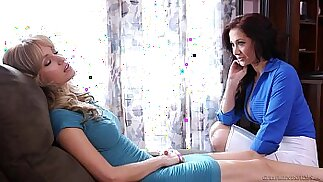 Lesbian sex under hypnosis Angela Sommers, Jayden Jaymes
